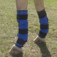 HYPERKEWL™ Evaporative Cooling Horse Leg Wraps (Pair)