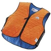 HYPERKEWL™ Evaporative Cooling Vest - Sport, Hi-Viz Orange, Fire Retardant