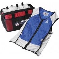 TECHKEWL™ Hybrid Sport Vest (Colors: Blue, Silver, Black)Includes: Set of four 7065-V Cool Pax™ & Cooler Bag
