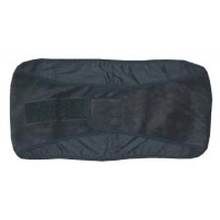 ThermaFur ™ Heating Back Wrap (Includes: 4 Heat Pax™ Body Warmers, Color: Black)