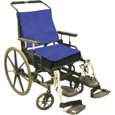 TECHKEWL™ Phase Change Cooling Wheelchair Back & Seat Cushion (Color: Blue)