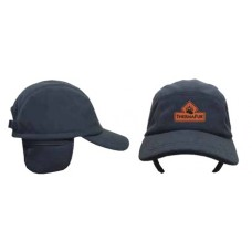 THERMAFUR™ Air Activated Heating Fleece Baseball Cap (Includes 1 Pair Heat Pax™ Mini/Hand Warmers, Color: Black)