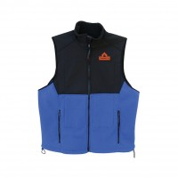 THERMAFUR™ Air Activated Heating Vest – Ultra with Softshell & Fleece (Includes 8 Heat Pax™ Body Warmers, Colors: Black, Blue, Khaki)
